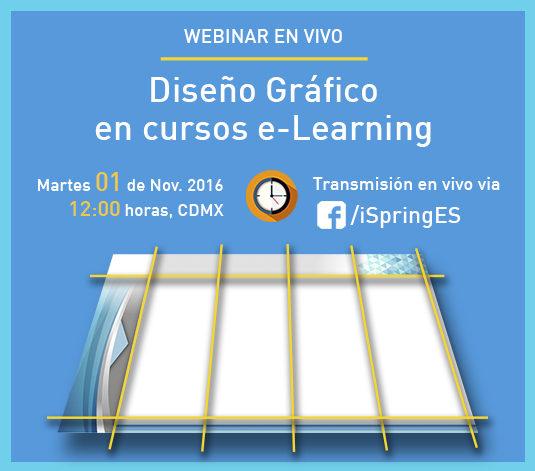 Diseño Gráfico en cursos e-Learning | Webinar