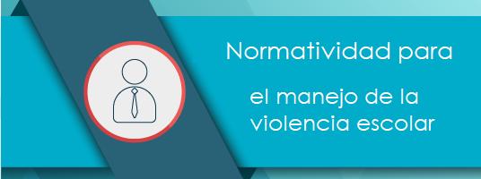 Curso Normatividad para el manejo de la violencia escolar